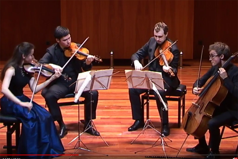 Eliot Quartett - Franz Schubert. String Quartet No. 14 in D minor (\'Death and the Maiden\')